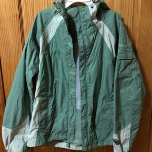 Columbia women's medium rain jacket